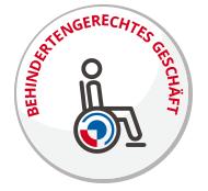 Auszeichnung: Behindertengerechtes Geschäft